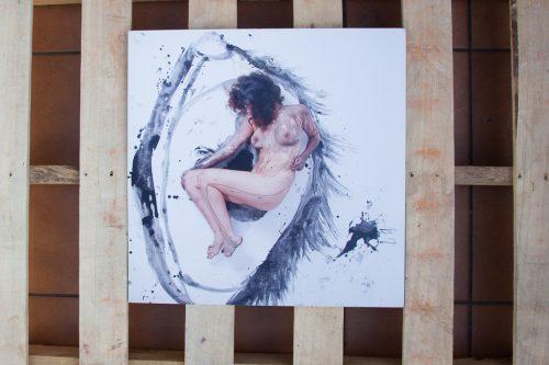 cuadro desnudo artístico fotografía