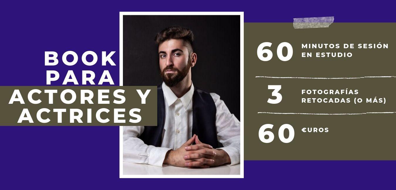 book para actores fotografo barcelona