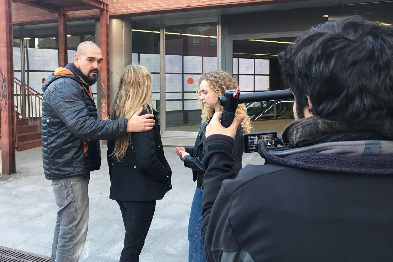 making of videoclip cuerpo de ciudad